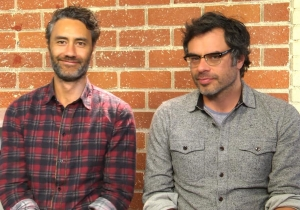 Jemaine Clement and Taika Waititi on 'What We Do In the Shadows'