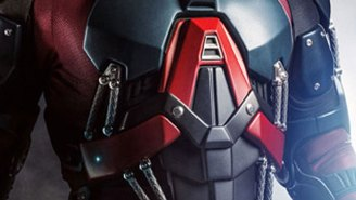 'Arrow' shows off first image of Brandon Routh in full A.T.O.M. Exosuit