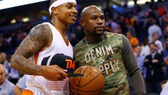 Floyd Mayweather's Birthday Gift To Isaiah Thomas? A Bentley, Of Course
