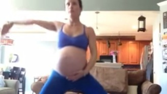 Watch This Florida Woman Try To Induce Labor By Doing Michael Jackson's 'Thriller' Dance