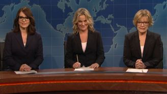 Tina Fey, Amy Poehler, and Jane Curtin Owned the 'SNL' Reunion