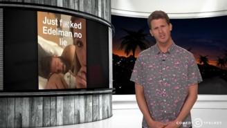 Watch Daniel Tosh Beautifully Take Down The New England Patriots And Their 'Cradle-Robbing Owner'