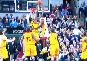 Video: Solomon Hill Drives And Throws Down The Facial On Tristan Thompson