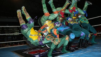 Lucha Libre Might Have Too Many Teenage Mutant Ninja Turtles Stables