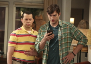 TV Ratings: 'Odd Couple' premiere, 'Two and a Half Men' finale boost CBS