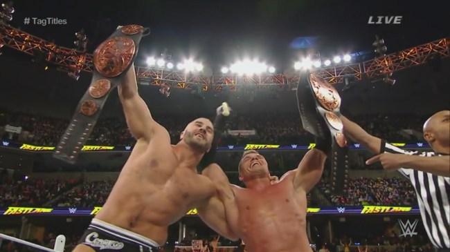Tyson Kidd Cesaro Champions