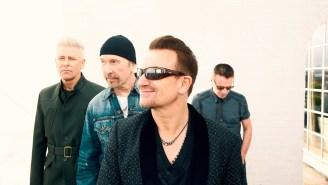 U2 debuts 'Every Breaking Wave' music video