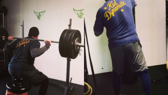 The Undertaker Skipped Raw And Spent Monday Night Killing It In The Gym