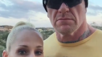 Don't Worry, Guys. The Undertaker Looks Just Fine Heading Into WrestleMania.