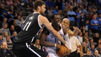 "Report: Nets And Thunder In ""Serious Talks"" On Reggie Jackson And Brook Lopez Deal"