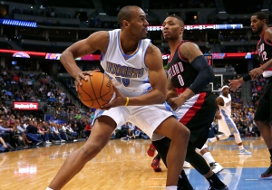 Report: Nuggets Trade Arron Afflalo & Gee To Trail Blazers For Barton, Robinson, Claver And Protected First-Round Pick