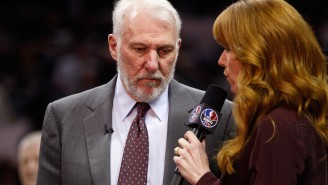 Gregg Popovich Loathes In-Game Interviews, But He's No Marshawn Lynch