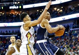 Video: Russell Westbrook Ties Career-High With 45 In Win Over Pelicans
