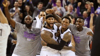 Video: DeMarcus Cousins Hits Buzzer-Beater On Shooter's Roll