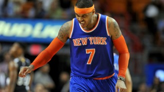 Carmelo Anthony Aggravates Knee In Heat Loss And Could Miss All-Star Game