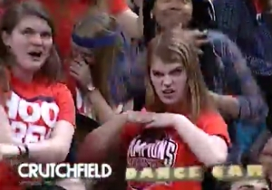 Watch This UVA Fan Absolutely Dominate A Jumbotron Dance-Off