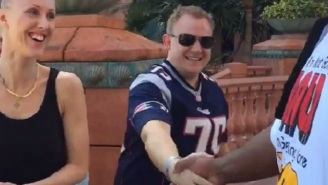 Pats Fan On Bahamas Vacation Meets Vince Wilfork And Doesn't Know It