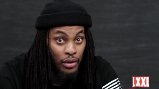 Here is Waka Flocka Flame reading 'Fifty Shades Of Grey,' just because.
