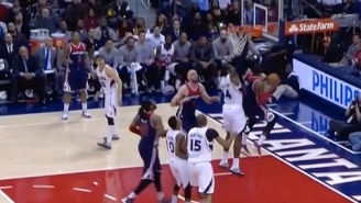 Video: John Wall Shakes Al Horford, Finishes With Acrobatic Lefty Reverse
