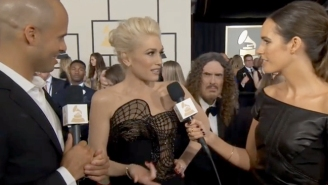 Weird Al Videobombed Gwen Stefani On The Grammys Red Carpet In The Most Fantastic Way