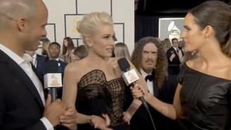 Weird Al Videobombed Gwen Stefani On The Grammys Red Carpet In The Most Fantastic Way