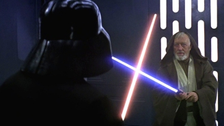 308 days until Star Wars: Darth Vader's lightsaber was white in original 1977 trailer