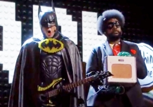 Yes, That Was Will Arnett As Batman During 'Everything Is Awesome' And It Was A Famous Batsuit