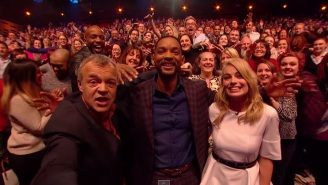 Will Smith, Margot Robbie, And Graham Norton Took A Selfie With The Audience, Because Why Not?