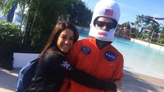 Finn Balor Donned His Spacesuit And Took The Polar Plunge With Other NXT Stars For Charity