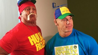 WWE Toured Silicon Valley, So Here's John Cena And Hulk Hogan Being Dorky Old Men With Technology