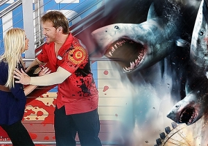 The Twister Of 1004 Sharks: Chris Jericho Is In 'Sharknado 3' And We Have Pics To Prove It
