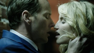 Review: Political drama 'Zipper' becomes 'Reefer Madness' for sex addiction