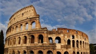U.S. Tourists Were Arrested In Rome For Carving Their Initials Into The Colosseum And Taking A Selfie