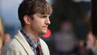 Ashton Kutcher Is Now Leading The Charge For Diaper Changing Stations In Men's Restrooms