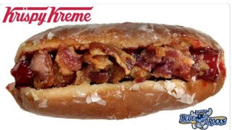The Krispy Kreme Bacon Donut Dog Is Unlike Any Hot Dog You've Seen Before