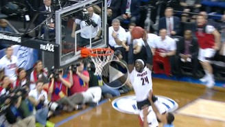 Watch This Unreal Alley-Oop By Montrezl Harrell During Louisville's Loss To UNC