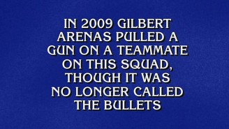 Gilbert Arenas Was On Jeopardy Last Night, But Not How You Think