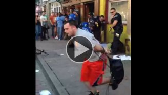 Watch This Guy In Handcuffs Somehow Escape Police At SXSW