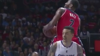 John Wall's 360 Layup Was A Lot Better Than Matt Barnes' Own Pseudo Spin