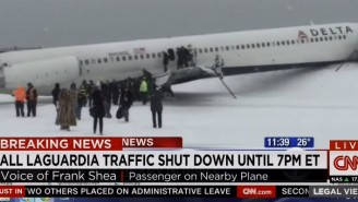 An NFL Player Was On The Plane That Crashed In New York, And He Posted Photos Of The Aftermath