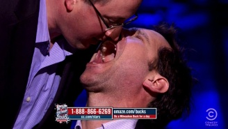 Watch Paul Rudd Eat From The Mouth Of Another Man Like A Baby Bird