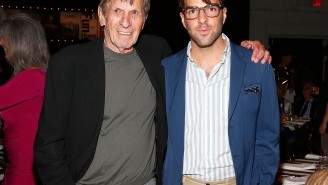 New Spock Zachary Quinto Calls Leonard Nimoy 'More Of A Father Figure Than Anyone Else In My Life'