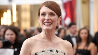 Julianne Moore On E!'s Miserable Mani-Cam: 'It's Humiliating!'