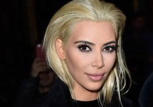 Kim Kardashian's Blonde Hair Isn't The Reason People Were Staring Last Night