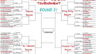 The Most '90s Band Tournament Round 1 Analysis, Or Just A Bunch Of Bad Lyric Puns!