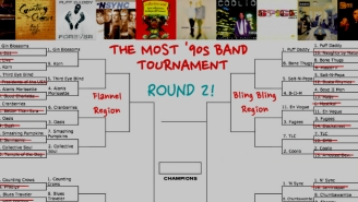 The Most '90s Band Tournament Advances To The Round Of 32: Vote Now!