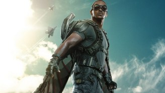 Set Footage From 'Captain America: Civil War' Shows Anthony Mackie Flying As The Falcon