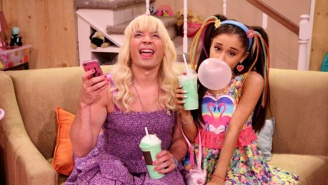Watch Ariana Grande And Jimmy Fallon Compete In An 'Ew' Sing-Off On 'The Tonight Show'