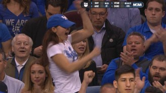 Ashley Judd Provides The Most Entertaining Moment Of The Kentucky-West Virginia Game