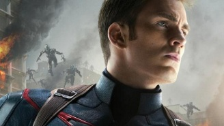 Captain America Earns His Spot On A New 'Avengers: Age Of Ultron' Poster